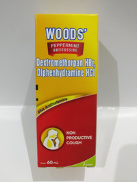 Woods antitusive 60ml - obat batuk kering