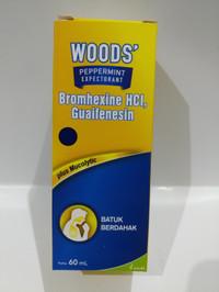 Woods expectorant - obat batuk