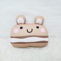 Boneka Plushie Macarons Series - Bear Medium