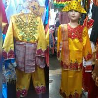 Baju adat anak pakaian gorontalo Lk/Pr