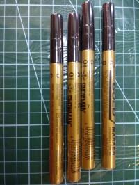 Paint Marker - Snowman - Gold Fine point (Each)