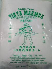 Sagu tani 1kg Tepung sagu Tapioca flour No 1 Cap petani Tirta Makmur