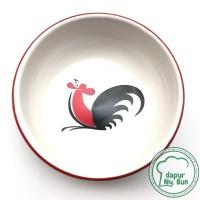 PREMIUM Mangkok Kecap Ayam Jago Seri 2 - Tatakan Kecap