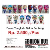 Balon Foil Pentung / Balon Karakter / Balon Tongkat / Balon Souvenir