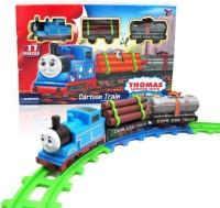 Mainan Anak - Thomas Track World Cartoon Train Play set Kereta Api