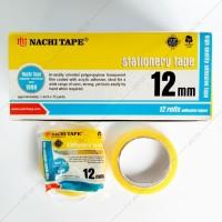 Selotip Bening 12 mm (0.5'') - Nachi