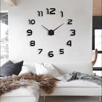 Jam Dinding Akrilik Unik Besar Ukuran Diameter 80 - 130 (AB)