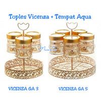 Toples VICENZA GA 3 + Tempat Aqua gelas ( KHUSUS GOJEK )