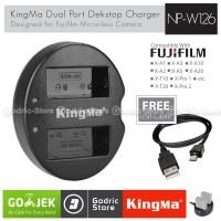 Kingma Charger NP-W126 for Fujifilm XA3 XA5 XA10 XT10 XT20 XT100 Etc