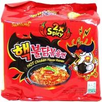 Samyang 2x spicy Nuclear HALAL (per 5bks)