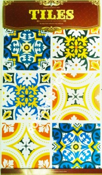 Stiker Lantai, Sticker Tangga Tegel Stiker Kamar Mandi, Dapur