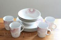 Parcel Lebaran Hampers Murah Mangkuk Piring Gelas Keramik Gift Set