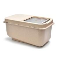 UCHII Rice Container Box Eco Grain   Tempat Kotak Beras Jepang Tutup