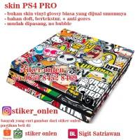 PS4 PRO skin - STICKERBOMB