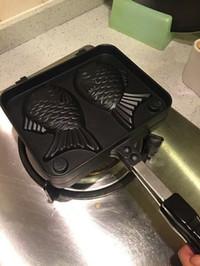 Waffle pan / Fish Shape cast