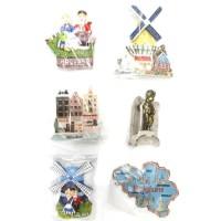 Souvenir magnet kulkas negara wisata belgia belgium holland