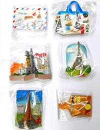 Magnet kulkas souvenir oleh oleh menara eiffel tower paris perancis