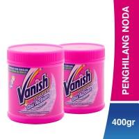 Vanish Penghilang Noda Oxi Action Powder (400 gr) x 2 [FLASH SALES]