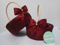 Flower Girl Basket/ Keranjang Rotan/ Keranjang Bunga/ Wedding/ Party