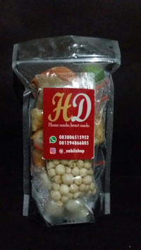 Baso aci HD | cilok kuah isi ayam keju kepiting | baso instant Jakarta