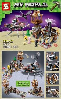 Lego SY 974 Minecraft My World Revenge of Black Widow ( 830+ Pcs )