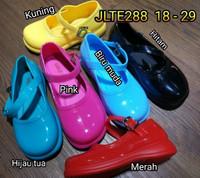 jelly shoes anak bara bara sepatu karet import jlte288 18-29