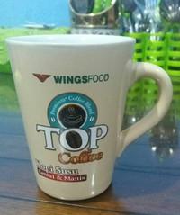 Logo Promosi/Merchandise Mug/Gelas V-Shape custom