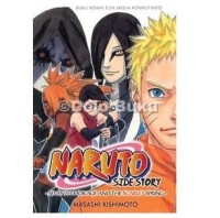 komik Naruto Side Story: Seventh Hokage and The Scarlet Spring Masashi