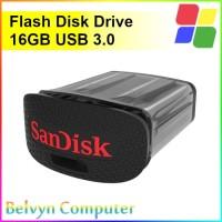 SanDisk Ultra Fit 16GB USB 3.0 Flashdisk Drive Original