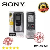 The ICD-BX140 4GB MP3 Digital Voice IC Recorder from Sony