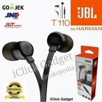 Headset JBL T110 Headphone / Earphone With Microphone Original 100%