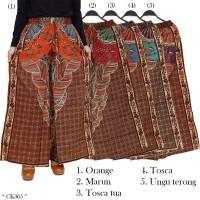 Celana Kulot JumboUkuran XXL 2L karet Pinggang Full motif