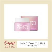 Banila Co. Clean it Zero Sherbet Cleanser (PINK)