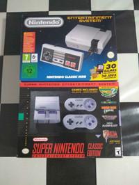 NES dan SNES Mini Classic / Classic Edition