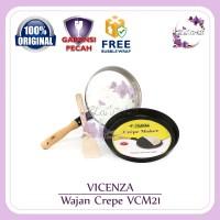 VICENZA Crepe Maker Wajan Cetakan Crepe VCM-21 VCM21 ORIGINAL