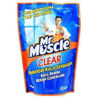 MR. MUSCLE CLEAR LIQ BLUE REFIL 440ML