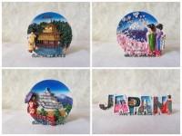SOUVENIR MAGNET KULKAS NEGARA ARAB JEPANG KYOTO JAPAN F DISKON