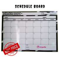 schedule board