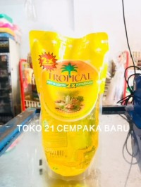Tropical Minyak Goreng Refill 500ml | Oil Tropical Pouch Promo 500ml