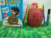 P-18000182 Mainan Barrel Pirate - King Pirate Roulette