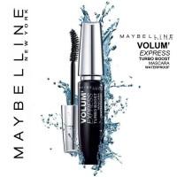 Maybelline VOLUME Express Turbo BOOST Mascara Waterproof 100% Original