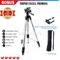 Tripod Kamera DSLR / Tripod Kamera Digital Excell Promoss + TAS