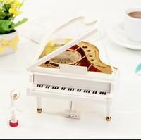 Kotak musik Piano BaLerina ukuran besar originaL