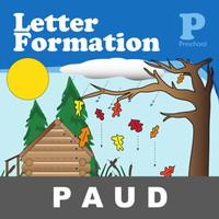 Letter Formation Buku Aktivitas Anak PAUD Menulis Menggambar Gambar