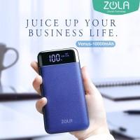 Zola Venus 10000mAh Smart LED Display 2.1A Fast Charging Power Bank