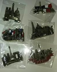 Magnet kulkas souvenir negara menara eiffel tower paris perancis franc
