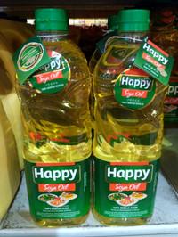 Minyak Kedelai Happy 1 Liter