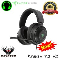 Razer Kraken 7.1 V2 Surround Sound Gaming Headset
