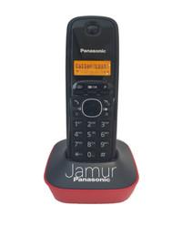 Telepon Wireless Cordless Phone Panasonic KX-TG1611 - Red