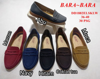 Jelly shoes bara bara vintage jeans sepatu wanita import dd1882jeans